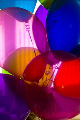 Round Balloons Assorted Colors 17in (Pack of 72)