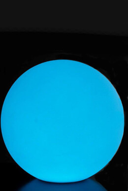 """12"""" ORB  LED Light Sphere Rechargable Ultra Color Changing with Remote, Floats"""