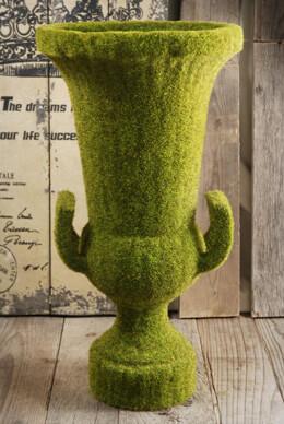Moss Urn 18in x 9in