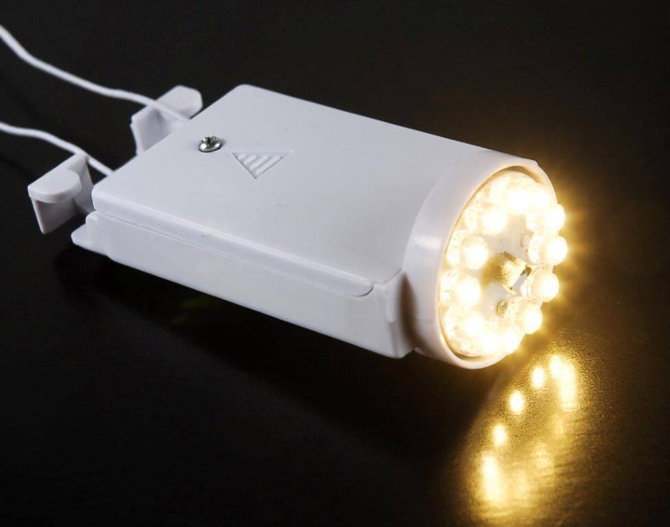 Battery Operated Paper Lantern Light Warm White