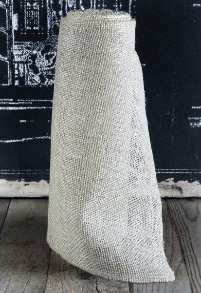 White Burlap Runner 14 Quot Wide X 10 Yds