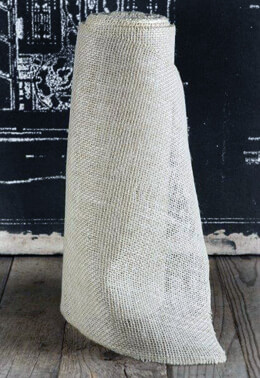 "White Burlap Runner 14"" Wide  X 10 yds."