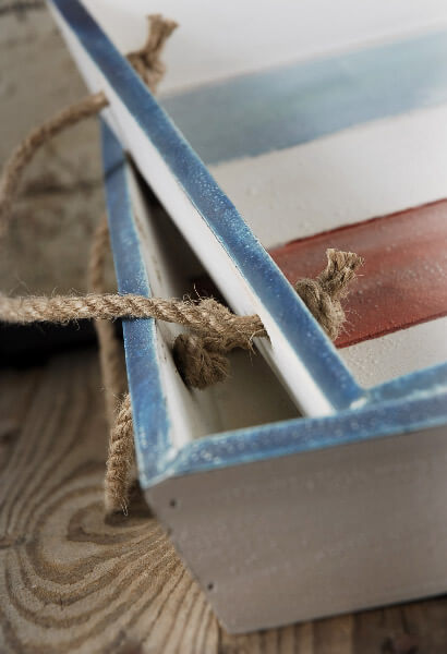 2 Rope Handle Nautical Trays