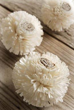 Sola Bela Drum Flowers 3in 3pc