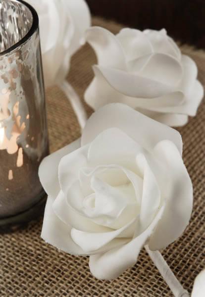 White Rose Wedding Garlands
