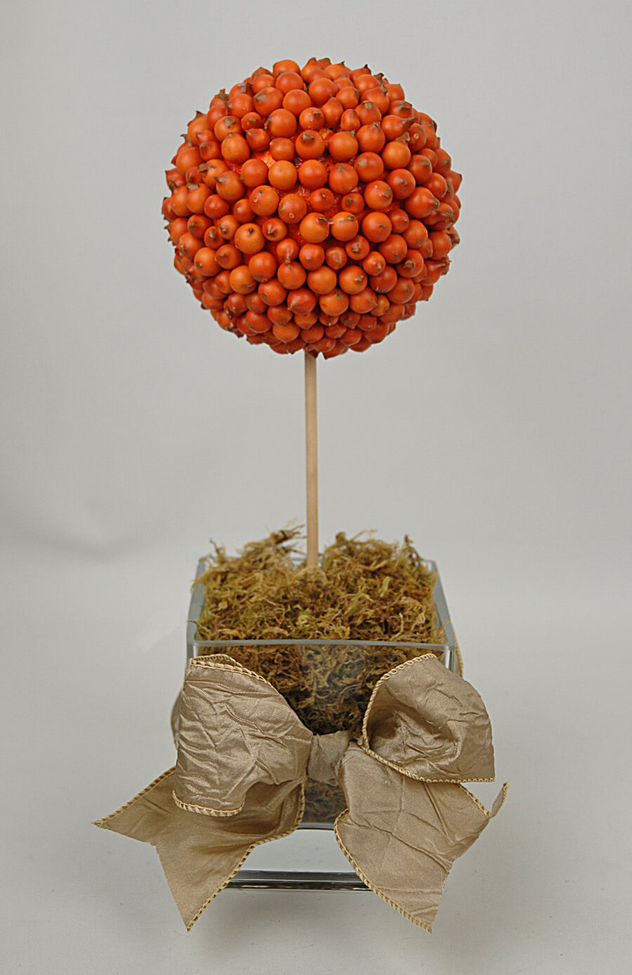 Deco Balls Papaya 4in