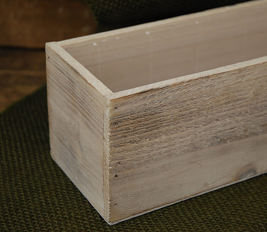 Whitewashed Wood Planters 4 Quot X 4 Quot X 12 Quot