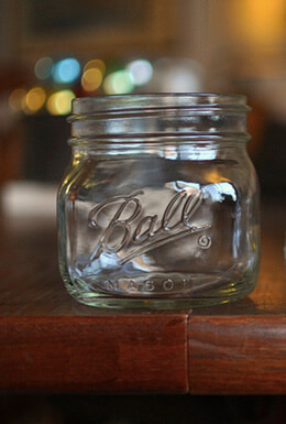 4 Ball Jars Elite Wide Mouth - Pint, Jam Jars