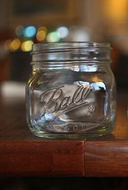 4 Ball Jars Elite Wide Mouth - Pint, Jam Jars