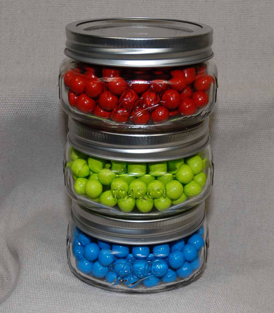 Ball Jars Collection Elite Wide Mouth 8oz Pack Of 4