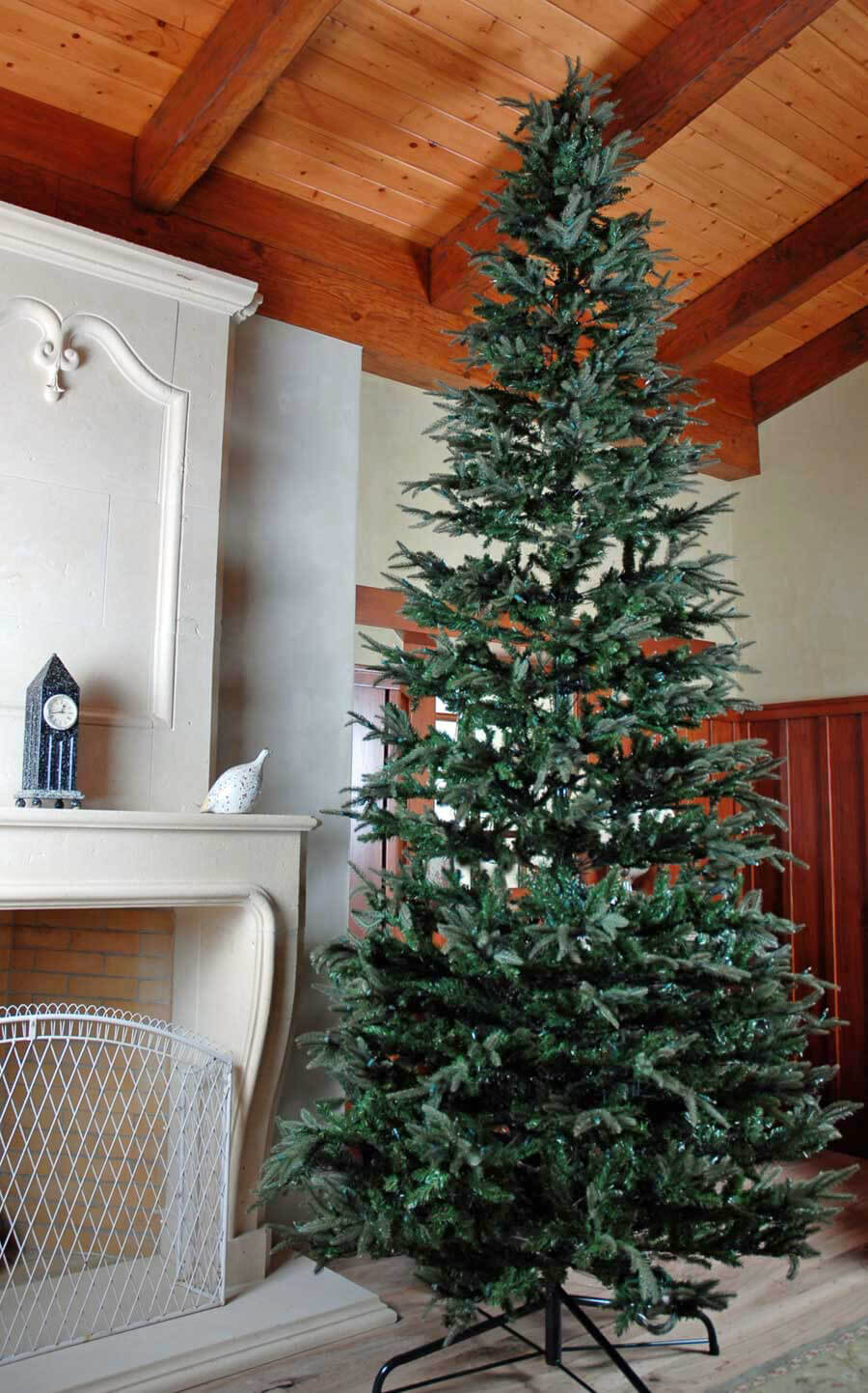 Pre Lit Slim Christmas Trees Clearance