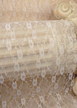 """Ivory Lace Table Runner 14"""" x 72"""""""