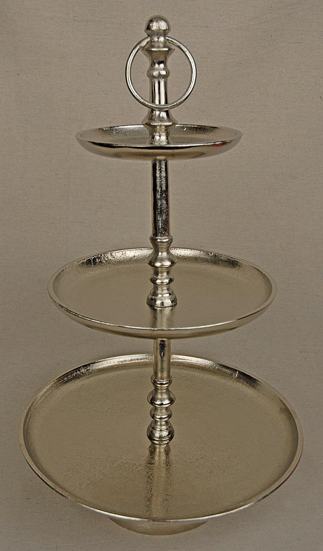 Tiered Metal Dessert Stand