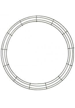 "Box Wire 24"" Wreath Frame"