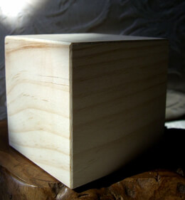 Unfinished Hollow Wood Blocks 3.5in