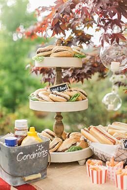 3 tier dessert stand - Outdoor Party Supplies