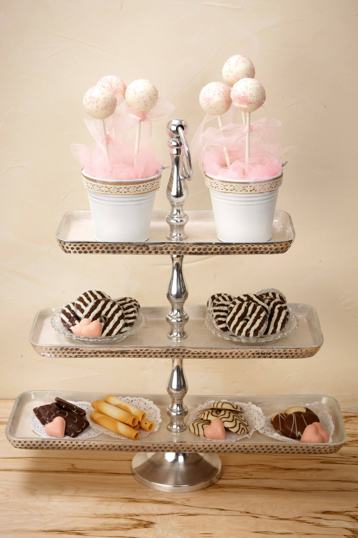 3 Tier Metal Fruit Stand