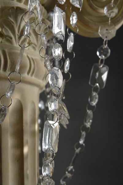 Emerald Cut Crystal Garlands 30'