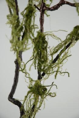 "Moss Twig Branch  Green Brown 36"""