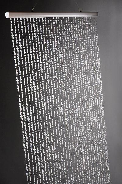 "Crystal Iridescent Curtain 36"" x 72"""