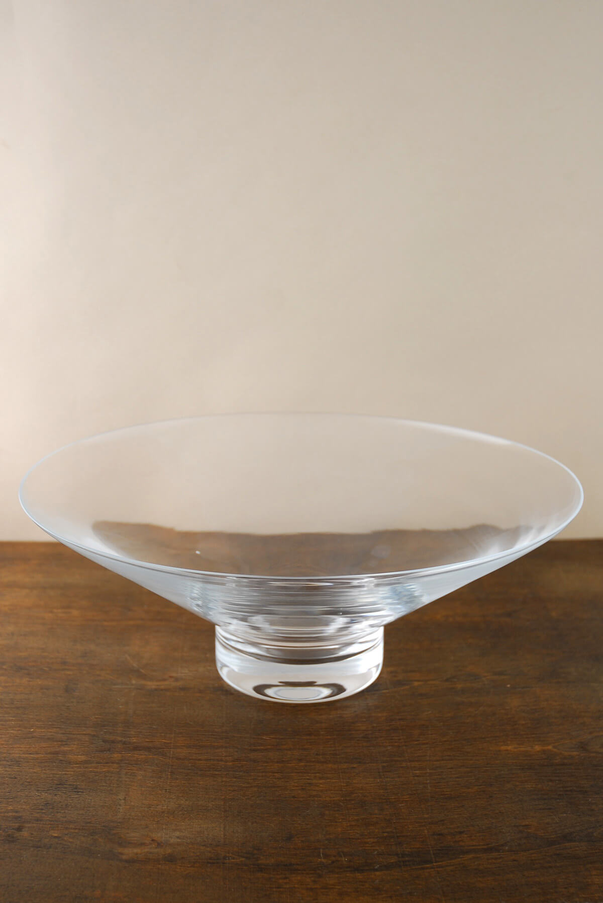 Floating candle bowl in