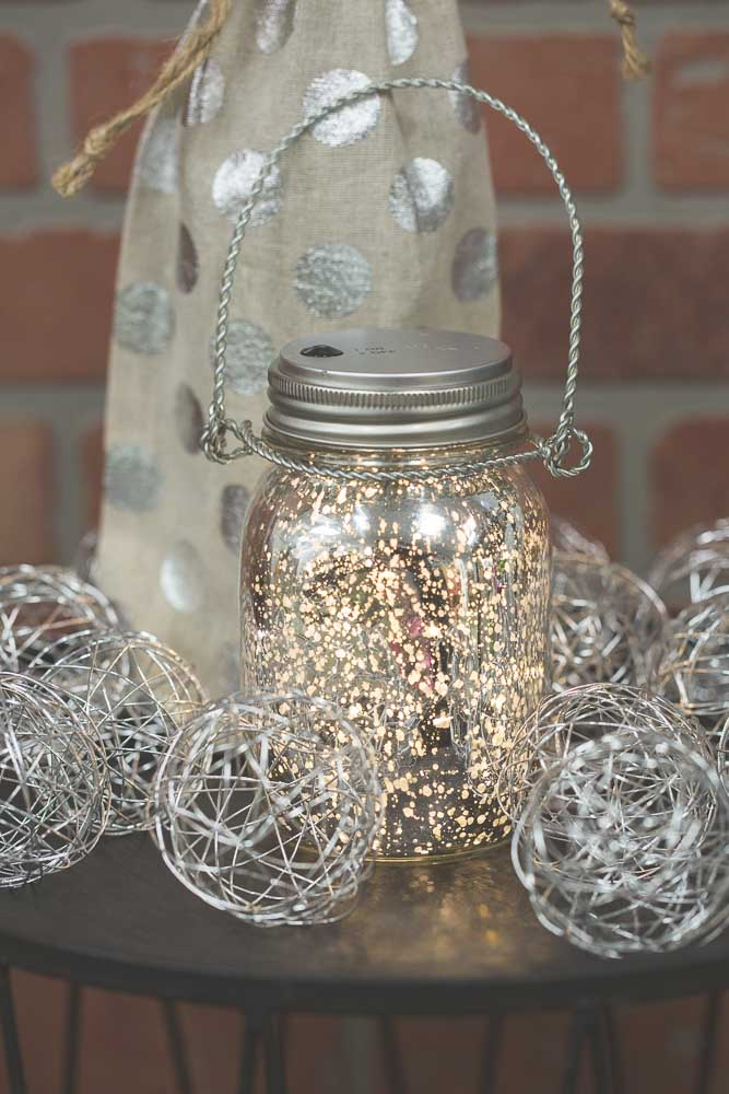Mason Jar Lights 20CT Warm White LED Fairy Lights with Lid for