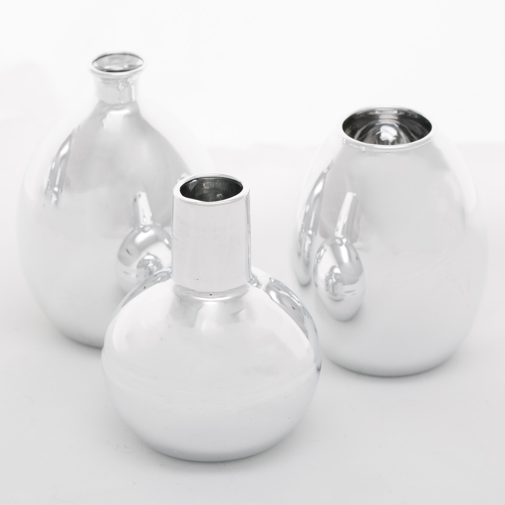 Richland Silver Mod Bud Vase Collection