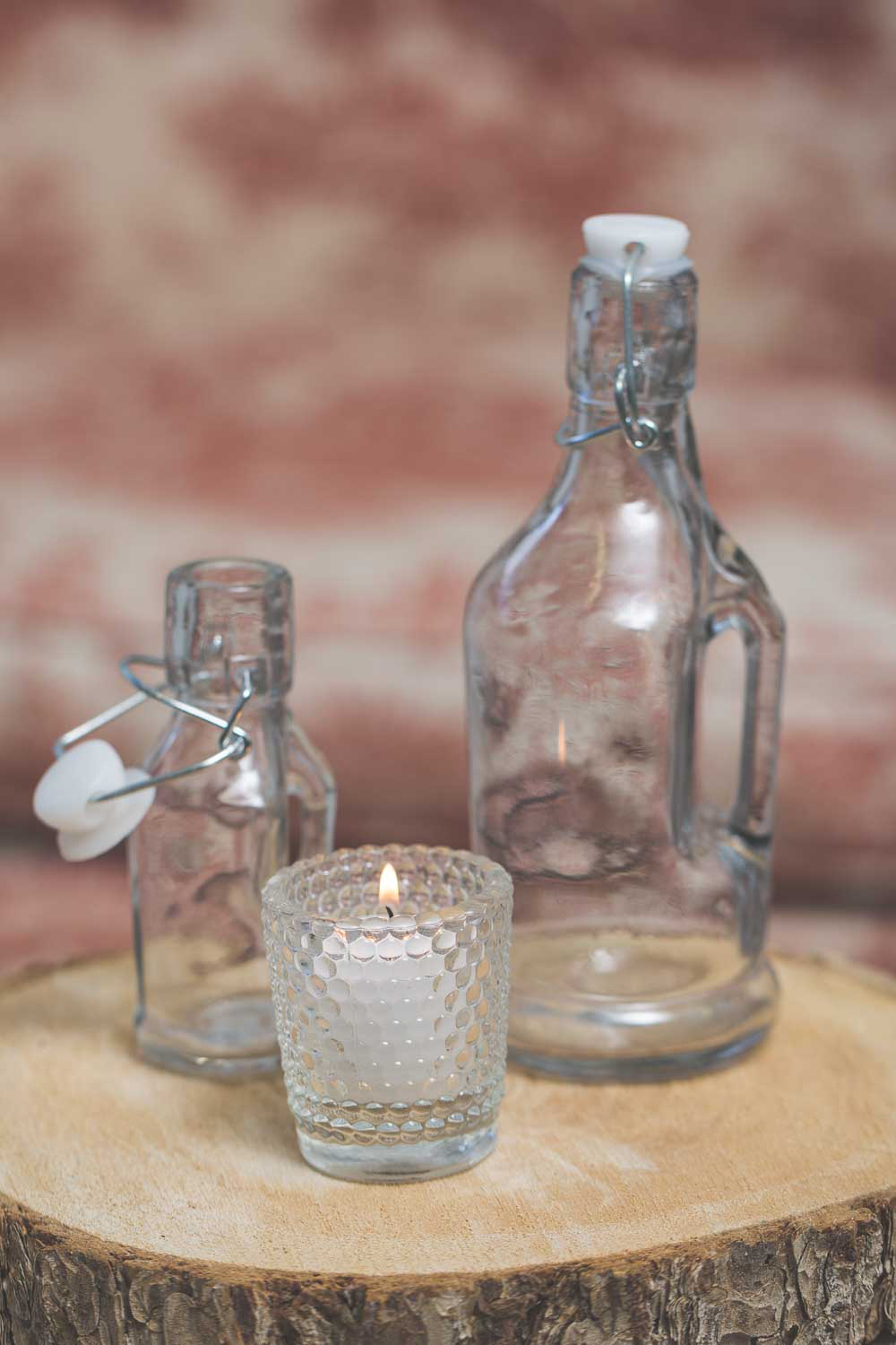 Richland Votive Holder Hobnail Clear Set of 12