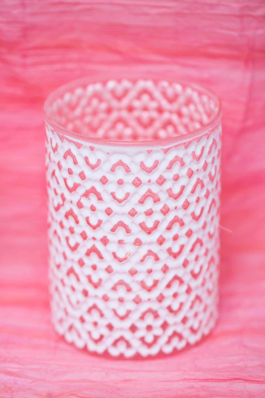 Richland Daisy White Vase