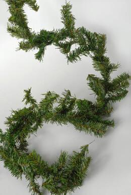 "Artificial Canadian Pine Garland 9' x 8"""