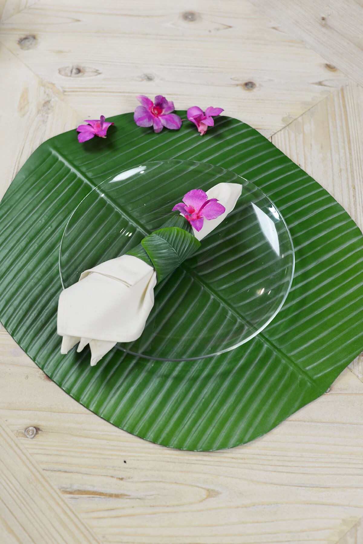 Banana Leaf Tropical Place Mat 19x16