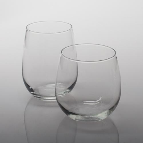 Eastland Stemless Wine Glasses Set of 12