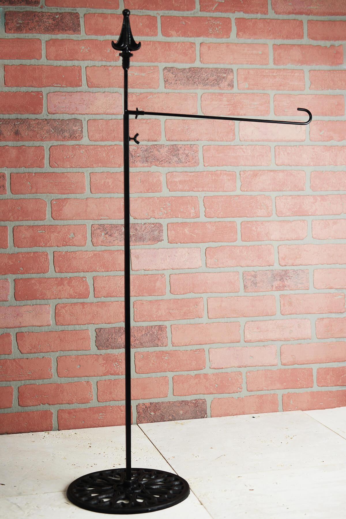 Adjustable Shepherd Hook Hanger With 15 Inch Side Arm 39