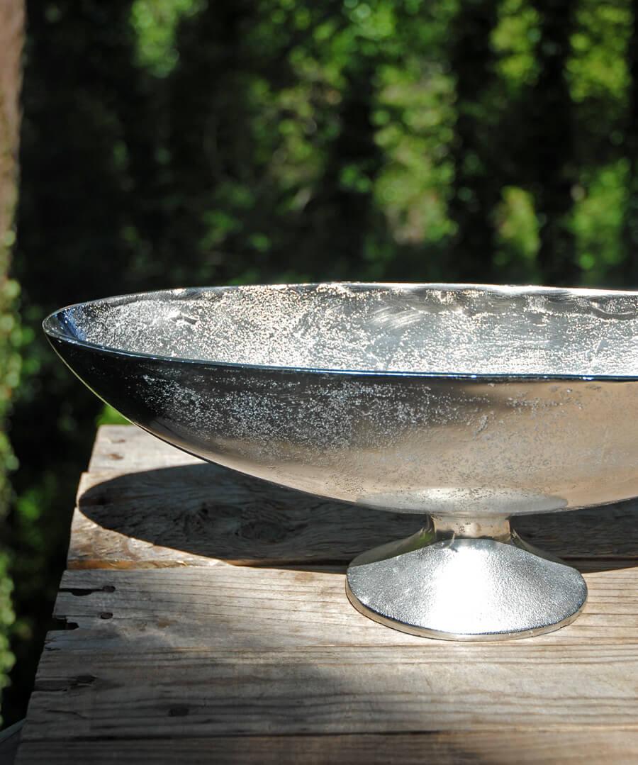 Aluminum Boat Bowl Silver 17 5 Quot