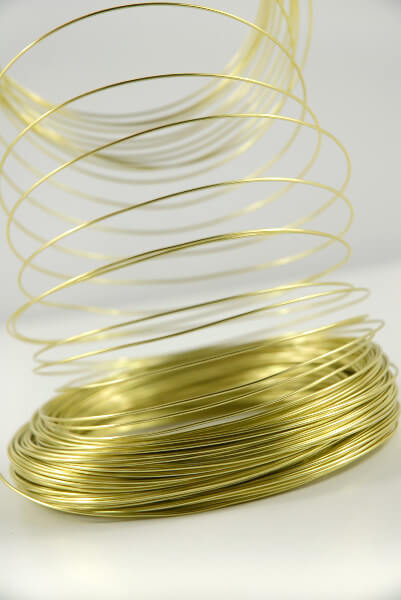 Lime Green 1mm  Aluminum Wire158ft, Floral Designing Supplies