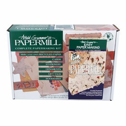 Complete Papermaking Kit Arnold Grummer's Papermill