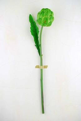 Artichoke Spray Green 21in