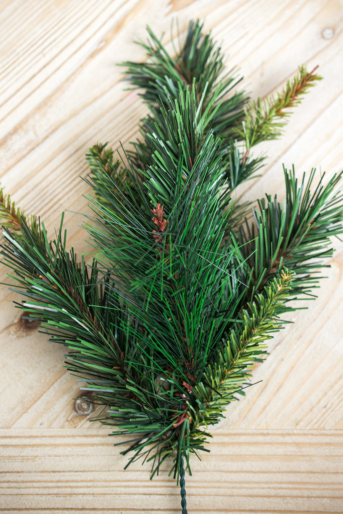 24 Artificial Pine Branches 20in