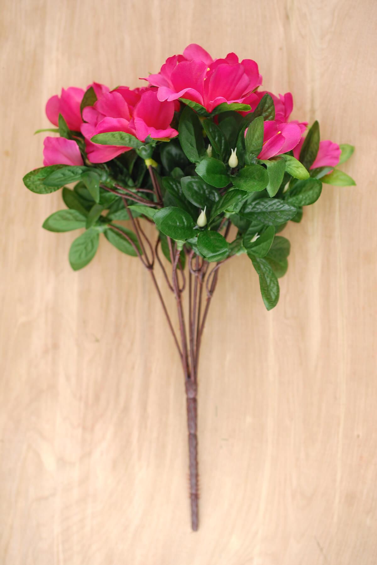 Geraniums azalea bush pink 13in izmirmasajfo
