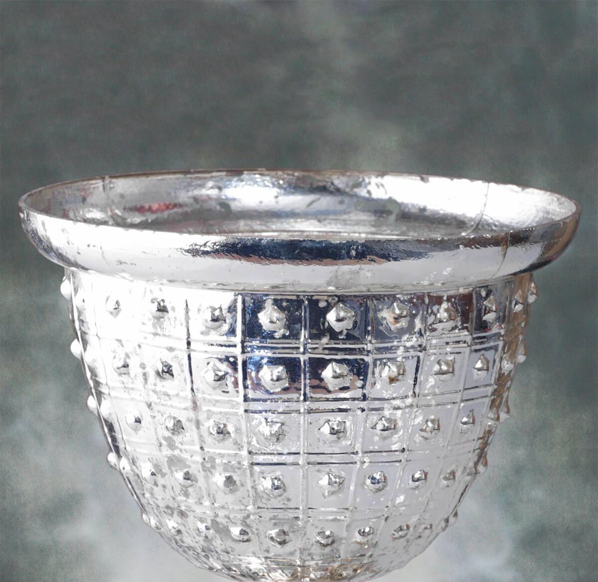 """Baleri Compote Silver 10"""""""