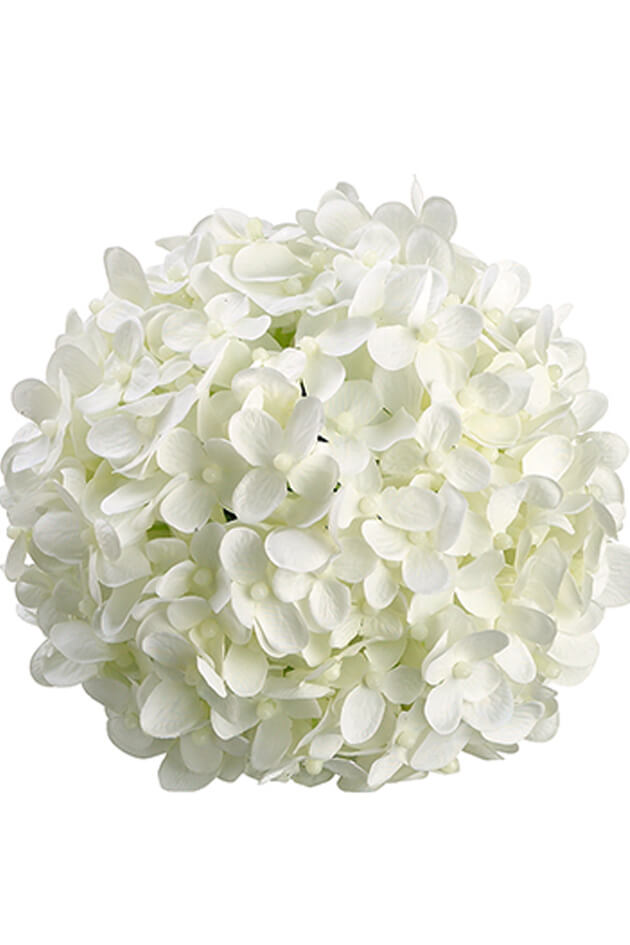 Flower balls pomanders 6 white silk hydrangea balls hanging decorations wedding flowers mightylinksfo