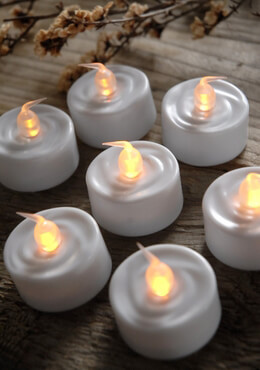24 Battery Operated LED Tealights