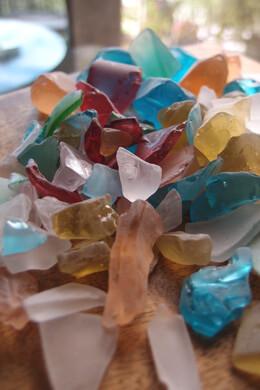 Beach Glass Multicolor 3/4 lb.