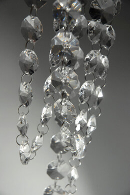 Crystal Garlands 6 Feet
