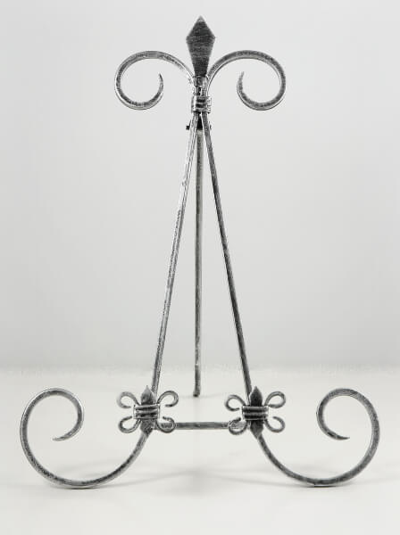 Black Iron Table Easels 16 in