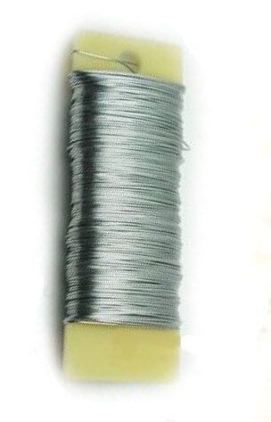 Floral Paddle Wire Bright (20 spools) 24 Gauge