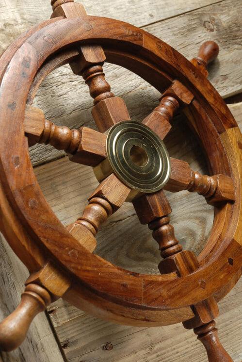 Ships Wheel 18in