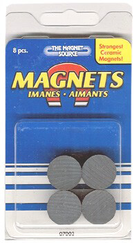 Master Magnetics® Ceramic Disc Magnets (07003) 96 Discs