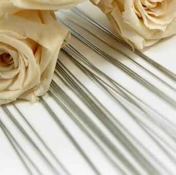 Floral Stem Wires (480 pieces) Bright 26 Gauge
