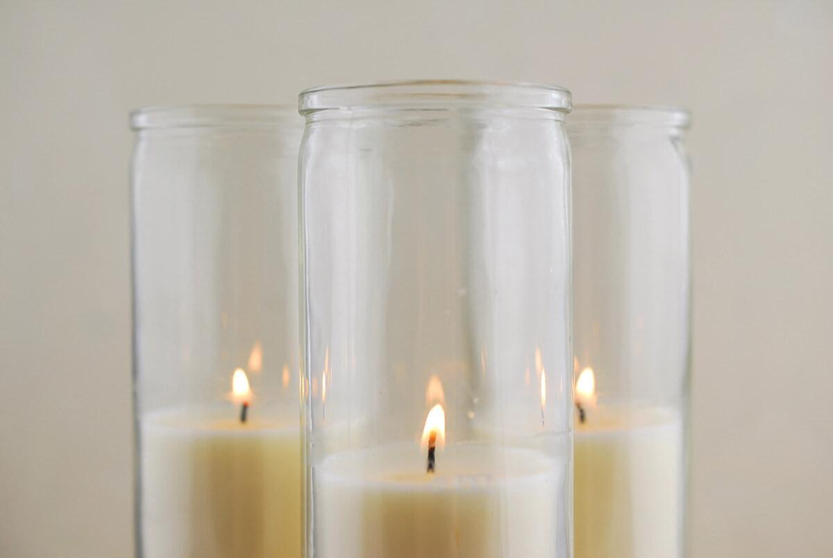 3 Loft Jar Candles 8 in - 90hr Burn - cotton wicks